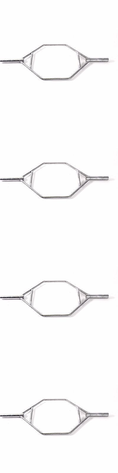 Barbells and Attachments 137864: Weight Lift Bar Squat Train Muscle Trap Hex Dumbbell Gym Deadlift Shrug Barbell -> BUY IT NOW ONLY: $87.95 on eBay! #SquatsAndMore