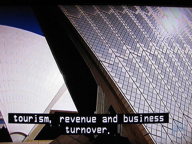 THE SYD OPERA HOUSE ON ABC1 by RubyGoes, via Flickr