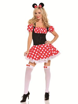 mickeys mistress sexy minnie mouse costume - Daisy Dukes Halloween Costume