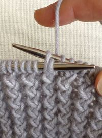 The Little Craft Store: Tutorials for 'different' Knitting Stitches