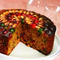 CHRISTMAS FRUIT CAKE http://www.sajiansedap.com/mobile/detail/11689/christmas-fruit-cake
