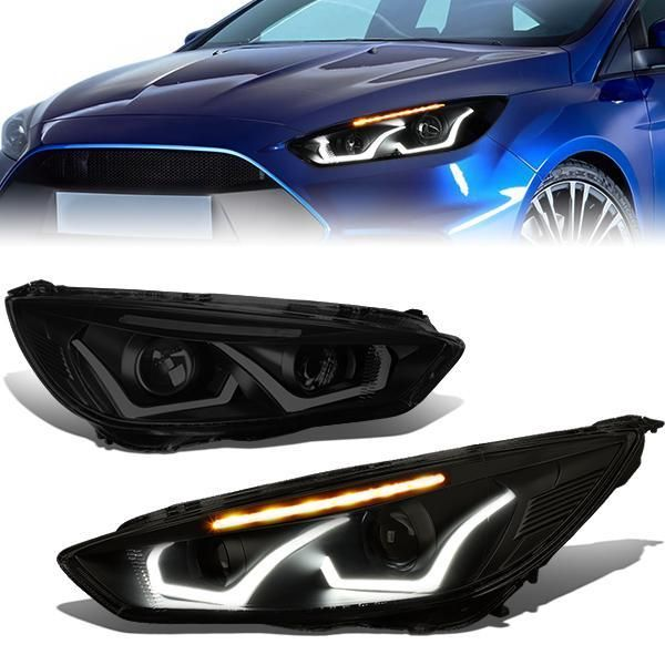 Headlight Ford Focus Rs Need For Speed Video Game Wallpaper