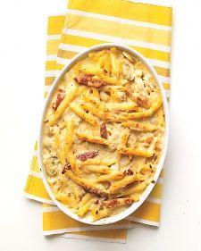 Baked Penne with Chicken and Sun-Dried Tomatoes, Recipe from Everyday Food, March 2009