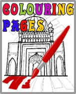 Islamic Website: games + Colouring Pages
