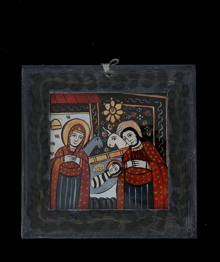 Romanain traditionbal icon on glass - The Bith of Christ/ Icoana pe sticla Nasterea http://www.librariabizantina.ro/icoana-pe-sticla-nasterea.html http://www.librariabizantina.ro/arta/icoane-pictate-pe-sticla.html?p=2