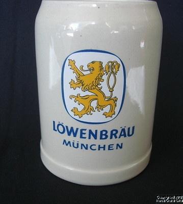 Beer Stein LOWENBRAU MUNCHEN (Munich) .5L Mug Staffel W. Germany New Lion: Yellow Lion, Ebay Ware, Coff Mugs, Lowenbrau Munchen, Stein Lowenbrau, Beautiful Germany, Germany Perfect, Beer Stein, Coffee Mugs