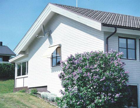 Vår-rengjøring hus, vedlikehold av husets fasader