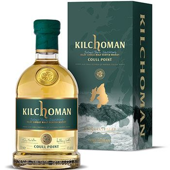 Islay Scotch whisky brand Kilchoman's travel retail exclusive, called Coull Point.  Coull Point is named after an Islay landmark – a rugged headline two miles north of the Kilchoman Distillery.  Carrying an RRP of £44.99, the new expression is now available from World of Whiskies shops at Heathrow T1-T5, both terminals at Gatwick and Manchester, Stansted, Newcastle, Glasgow, Edinburgh and Aberdeen.