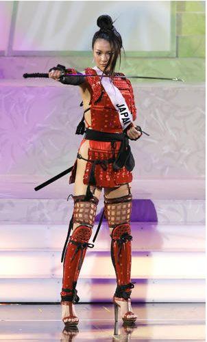Kurara Chibana National Costume. the best!