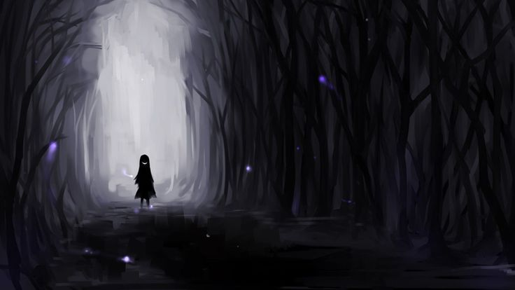 Dark Anime Scenery Wallpapers and Backgrounds 2720 - HD Wallpaper Site