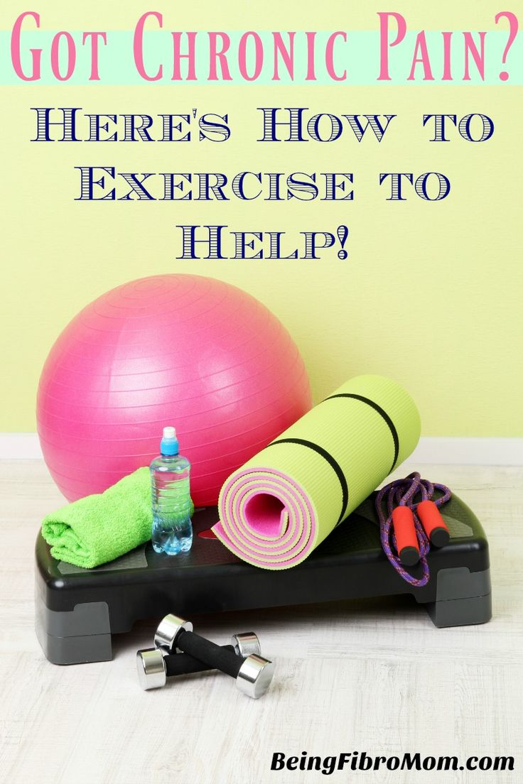 Got Chronic Pain? Here's How to Exercise to Help! #ChronicPain #PainInjury #BeingFibroMom http://www.beingfibromom.com/how-to-exercise-to-help/