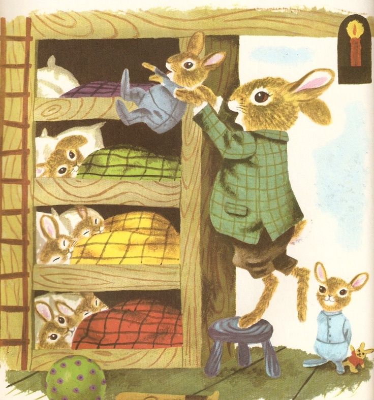 by Richard Scarry. I wonder if his books kick started my rabbit & fox obsessions?