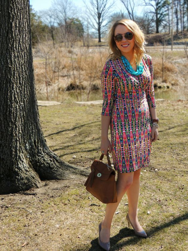 c4b7d3a7183b Ross Dress for Less Spring Dress Look | The Kelsey Wolfe Blog | personal +  blog | Spring dresses, Dresses for less, Fashion