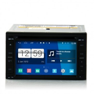 Autoradio GPS DVD Nissan universal old S160 Android 4.4.4 avec HD Ecran tactile Support Smartphone Bluetooth kit main libre Microphone RDS CD SD USB 3G Wifi TV MirrorLink