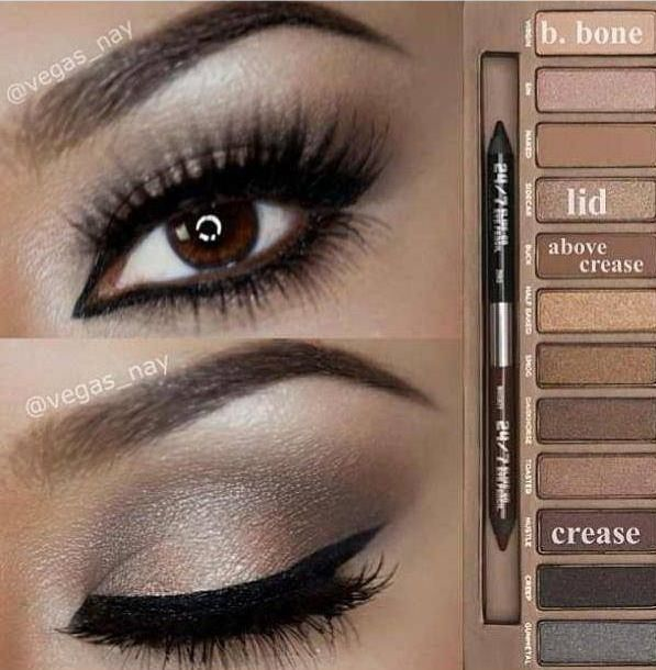 I have this palette, I wish I could make this look happen! gotta start practicing!!!