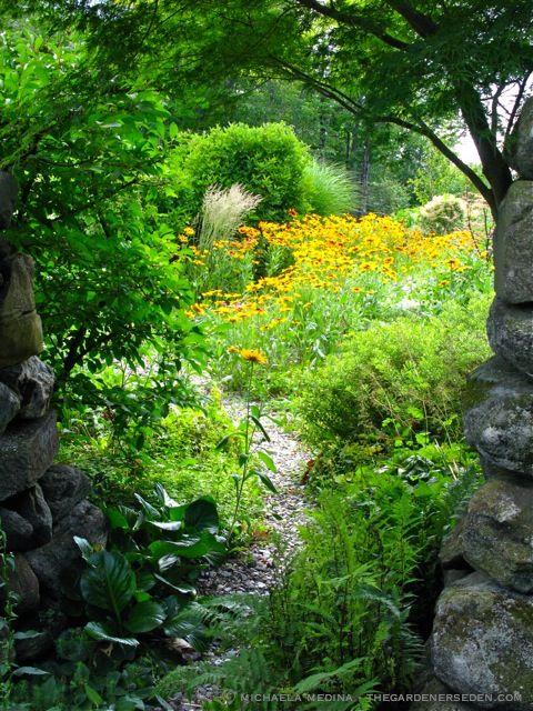 secret garden images | ... The Play of Sunlight and Shadow: Through the Secret Garden Door