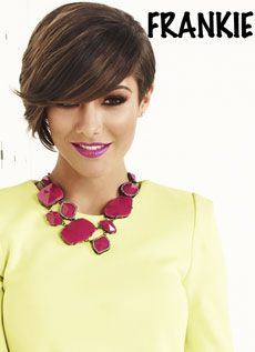 Frankie from The Saturdays.... love the cut and colour
