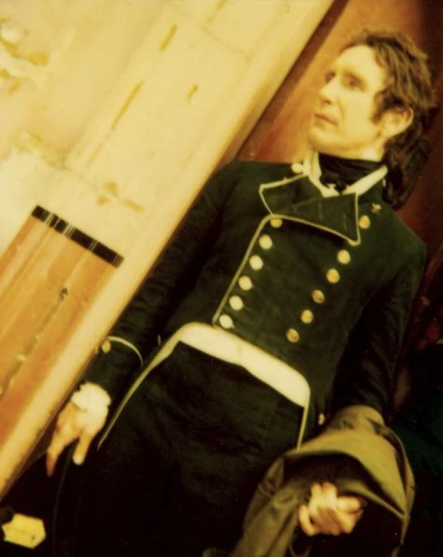 Paul McGann as Lt. William Bush  in the Horatio Hornblower movies