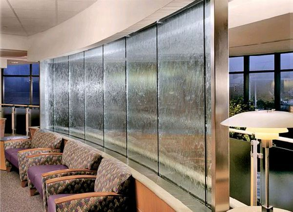 Interior Design, Harmonic Environments Indoor Waterfalls Ujell Image 005: Indoor  Waterfall from Harmonic Environments