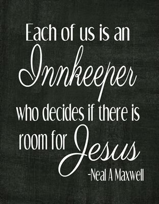 Each of us is an innkeeper who decides if there is room for Jesus   These are sizedas 8x10 and 12 x 12, I made them with a craft in mind, on...