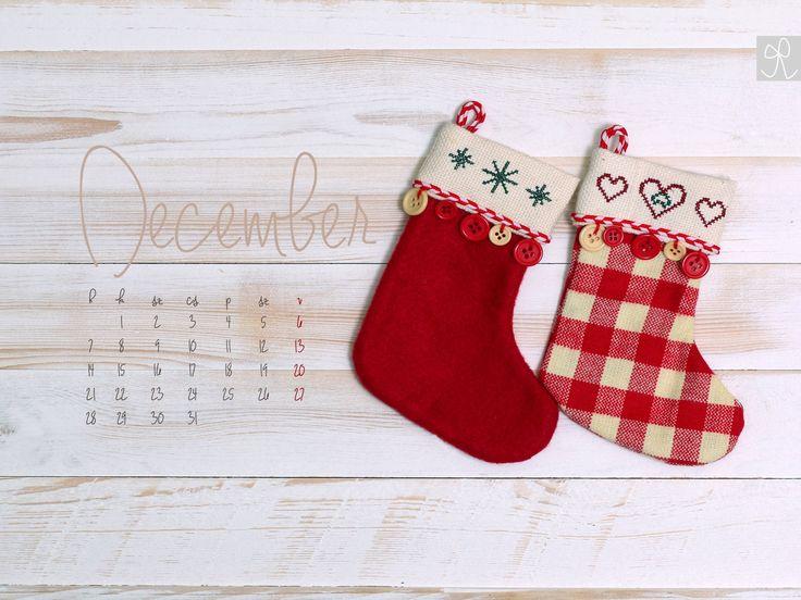 Masni 2015 decemberi, naptáras háttérkép - 2015 December, free desktop calendar to download