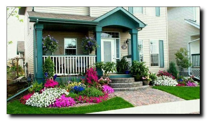 Backyard Landscaping Front Yard Landscape Ideas That Can Transform Your Home Completely Landscape On A Budget Small Front Yard Landscaping Front Garden Design Small Front Gardens