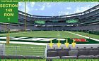 #Ticket  4 Front row Indianapolis Colts at New York Jets tickets 2016 section 149 row 1 #deals_us