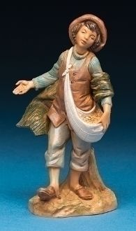 "Uri, Young Boy for the Fontanini 5"" Scale"
