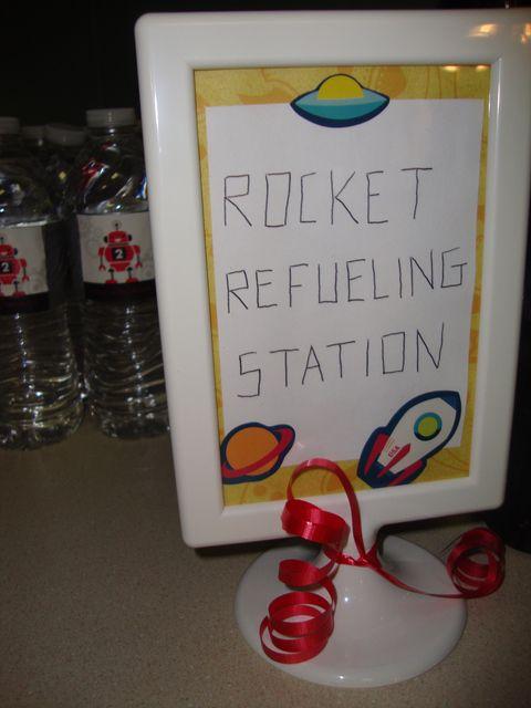 Robots & Rockets Birthday Party Ideas
