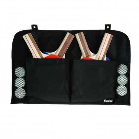 4 Player Pack with Organizer - This set includes 4 pips-out rubber paddles with a 5-ply select hardwood laminate blade for increased control, 6 standard table tennis balls, and an organizer for superior convenience. - See more at: http://franklinsports.com/shop/4-player-pack-with-organizer