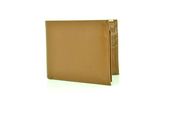 Tan Colour Genuine Leather Wallet
