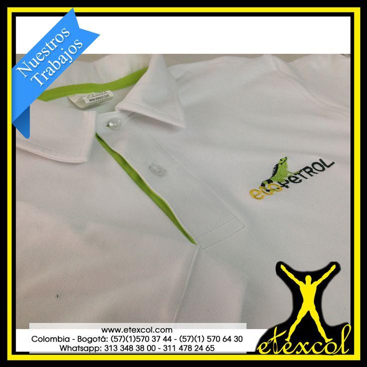 En Etexcol Cada Día Damos un paso más para ser los Mejores. Camiseta En Algodón Micro Esmerilado. Tela Certificada. Diseño especial... www.etexcol.com