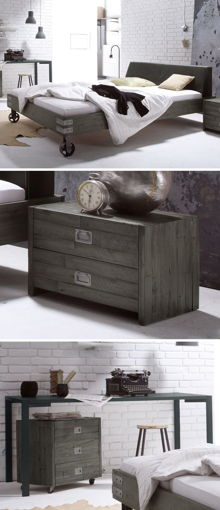 The 154 best Industrial Style images on Pinterest | Ikea industrial ...