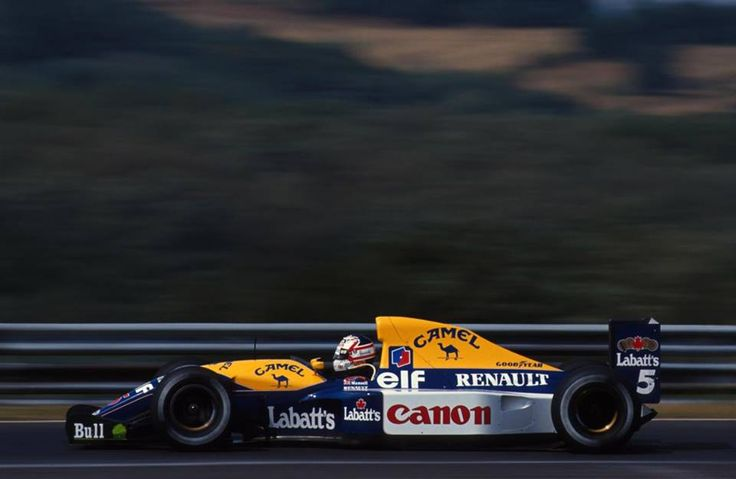 Canon Williams FW14B Renault RS3C/RS4 3.5 V10 16 Grand Prix, 10 wins, 11 podiums, 11 fastest laps, 15 pole positions Finally Nigel won the title