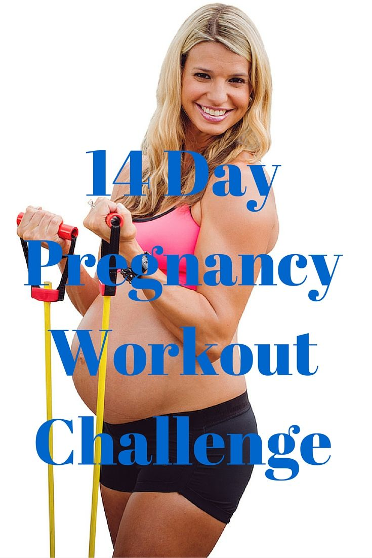 4 Day Jumpstart Pregnancy Workout Challenge Daily workouts and motivation. Pictures and workout videos included  http://michellemariefit.com/pregnancy-workout-challenge-14-day-jumpstart/