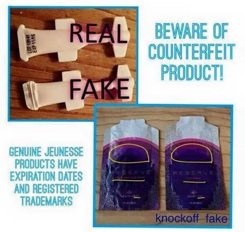 WARNING... Counterfeit products have been popping up online at places like E-Bay. They are often advertised for less, however, they are NOT the same products; reports of horrible reactions have been coming from these sales. They may look the same and say our name, but we DO NOT stand behind anything bought on these sale sites. If you want the real thing you will have to go through a Jeunesse rep!!!