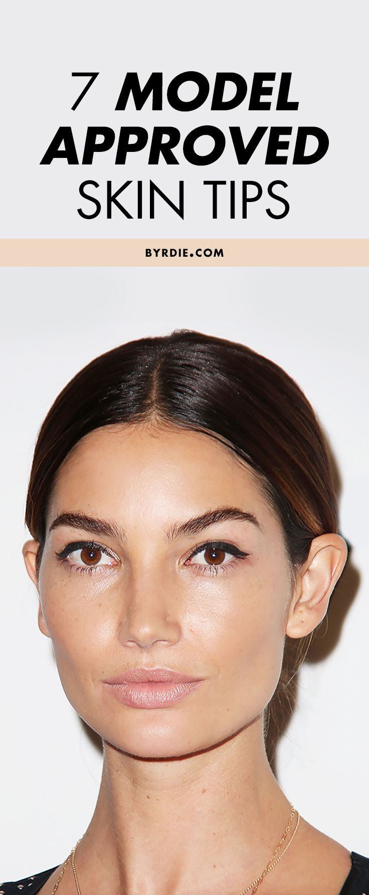 7 free skin tips to steal from models