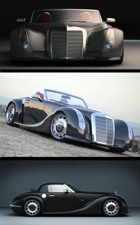 Mercedes-Benz GWA 300 SLC new life for an al … – #al #cars #a # for #GWA #life
