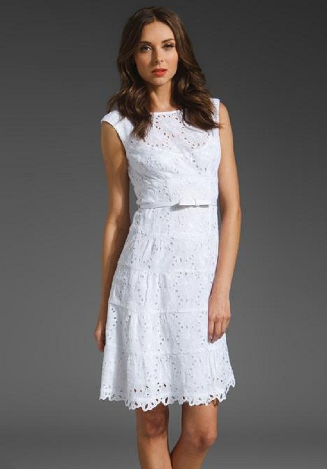 white lace dress outfit ideas