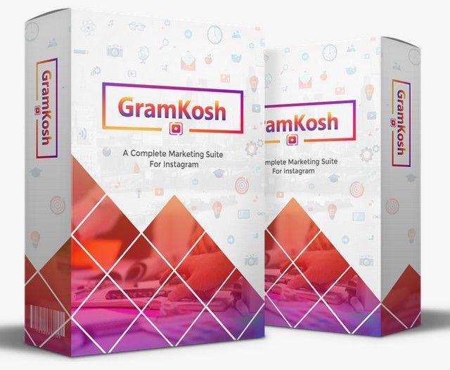 GramKosh 2.0 Instagram Marketing Suite Software