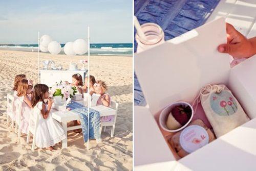 Encantadora Fiesta De Cumpleanos En La Playa Fiestas Para Ninos