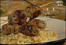 Tyrkiske kjøkkboller med lammekjøttdeig