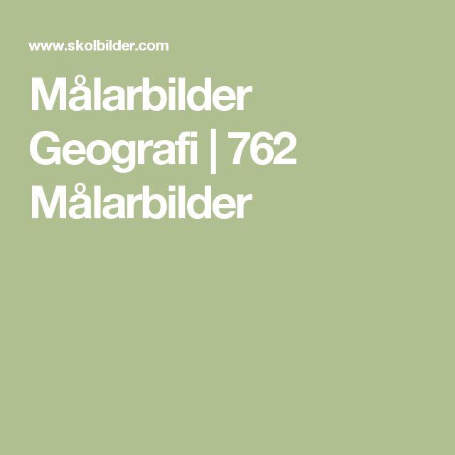Målarbilder Geografi   762 Målarbilder