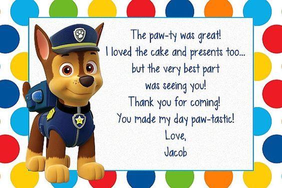 Por encargo de pata patrulla cumpleaños por MyBabiesBreath en Etsy