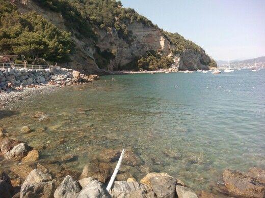 Spiaggia dell'Isola Palmaria