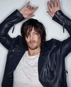 Norman Reedus Covers Men's Journal, Talks Biking