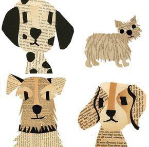 Basteln mit Papier - Tiere