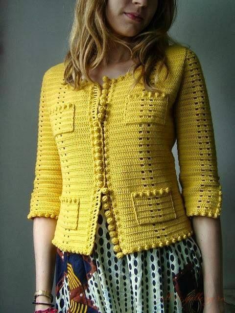 Crochet une jolie veste http://www.lagrenouilletricote.com/archives/2015/02/01/31439574.html#utm_medium=email&utm_source=notification&utm_campaign=lagrenouilledu