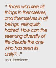 Quote from Isha Upanishad