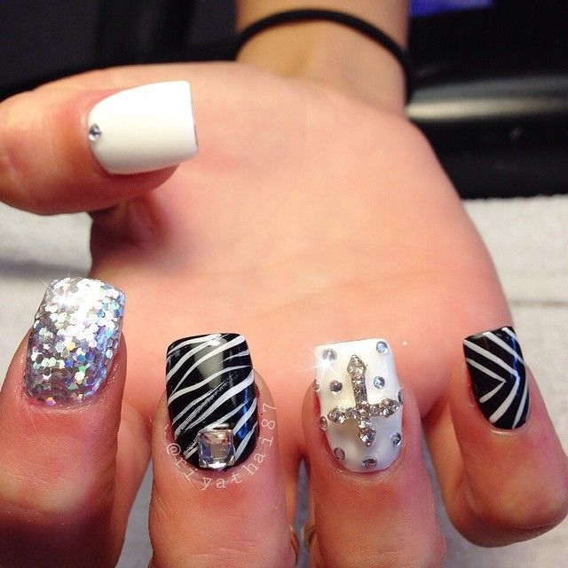 25 best ideas about cross nail designs on pinterest